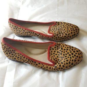 C Wonder Calf Hair Suede Flats Shoes Size 8.5